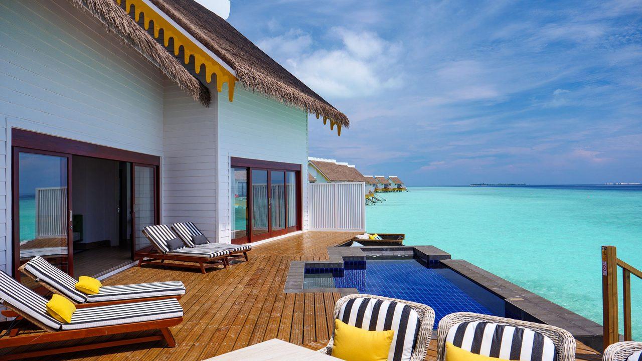 2-Bedroom Overwater Pool Villa