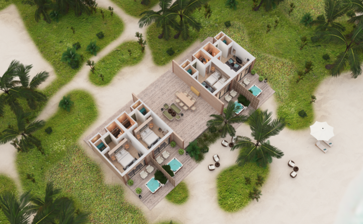 4 Bedroom Beach Residence