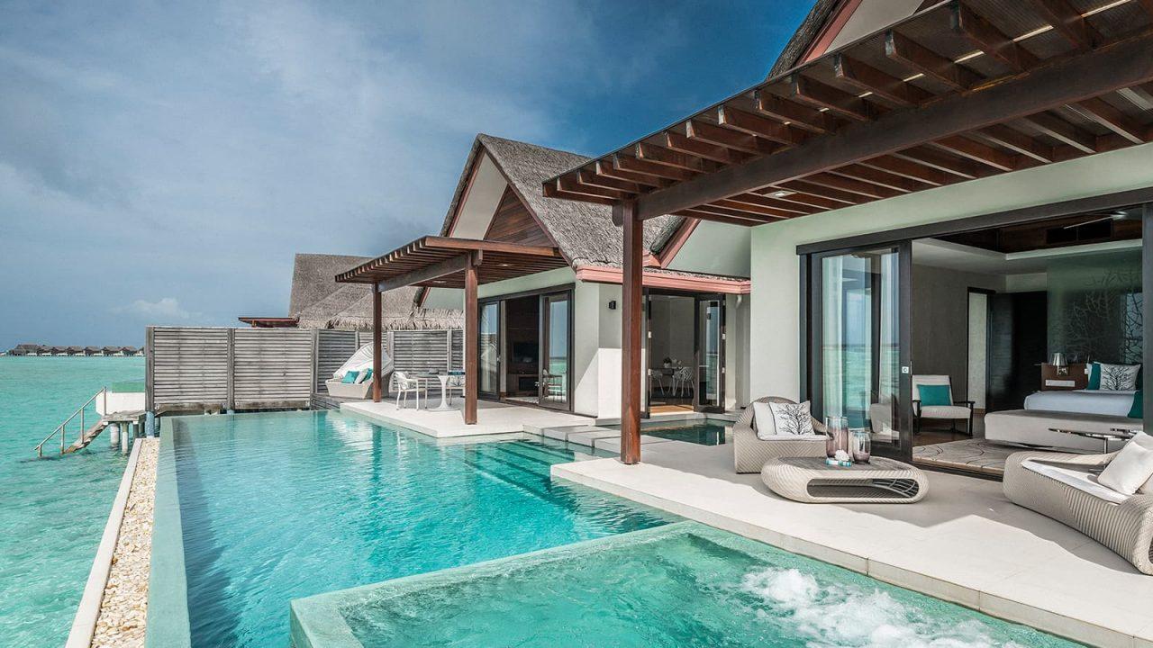 1 Bedroom Water Pool Pavilion