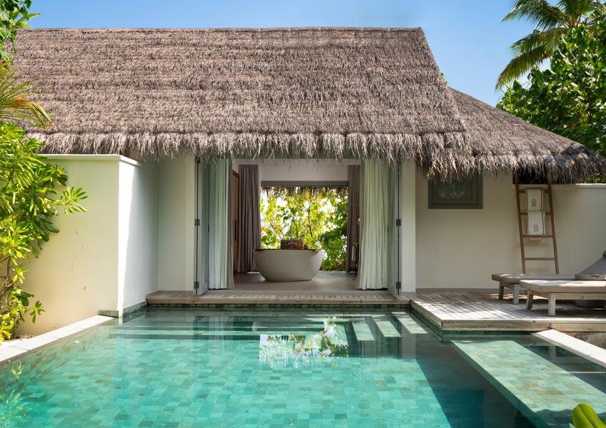 Beach Pool Retreat