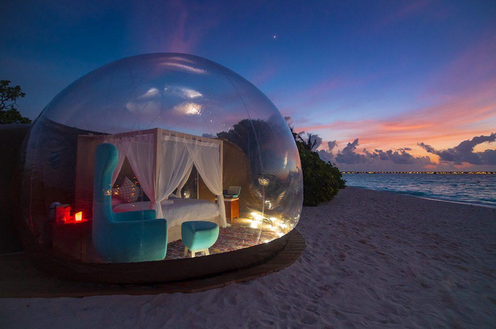 Beach Bubble Tent
