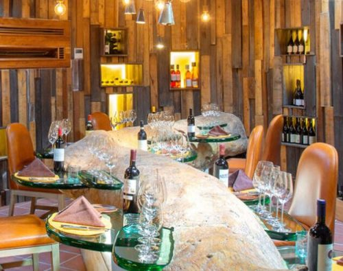 Underground Wine Cellar