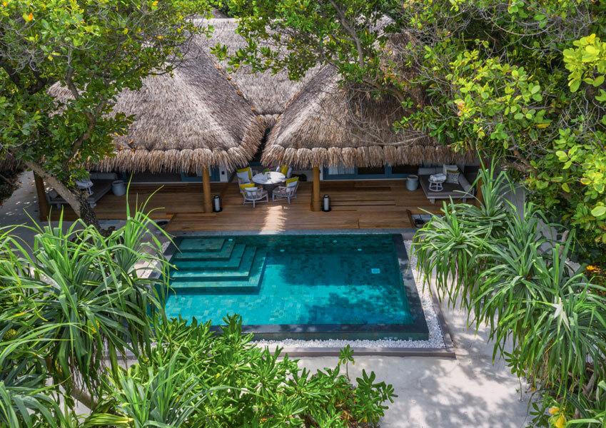 2 Bedroom Beach Pool Villa