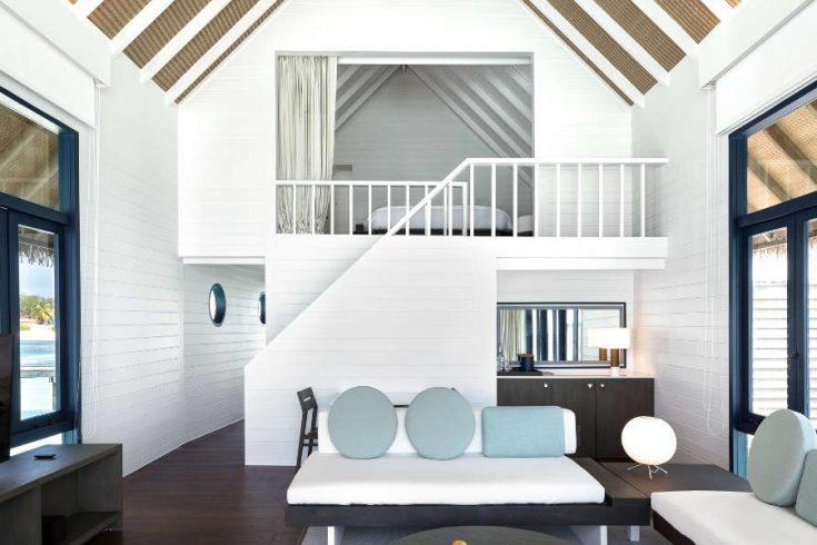COMO-Cocoa-Island_Loft-Water-Villa_Living-Room_Looking-in