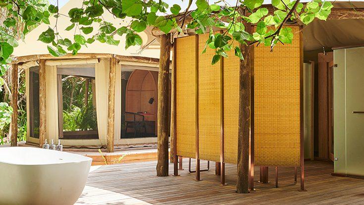 Luxury Tented Jungle Bathroom 02