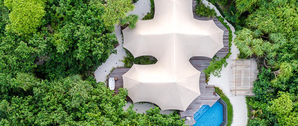 Tented Jungle Villa