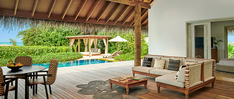 3 Bedroom Beach Sunset Villa