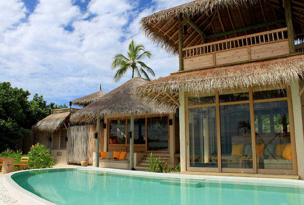 2 Bedroom Lagoon Beach Villa with Pool