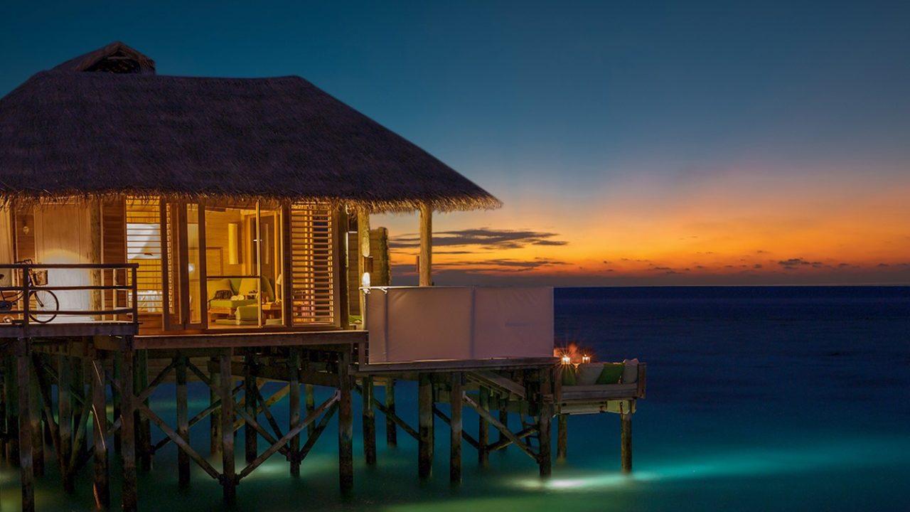 Sunset Laamu Water Villa with Pool