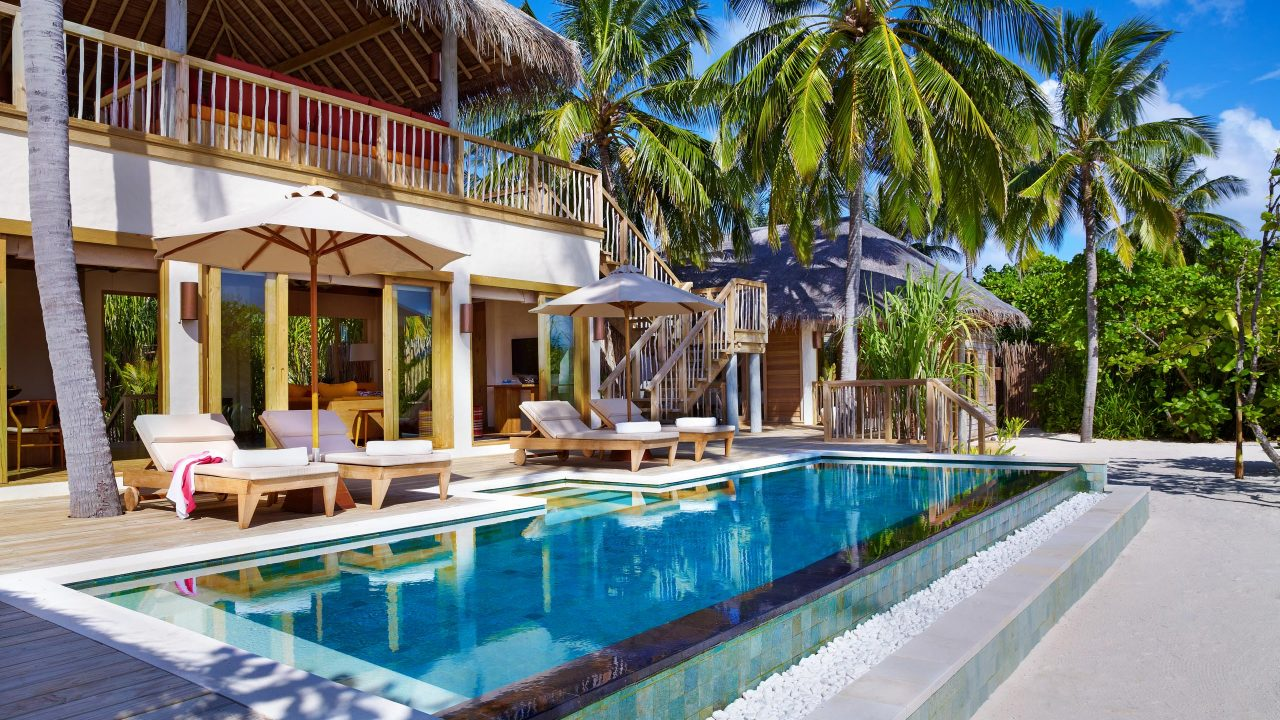 2 Bedroom Ocean Beach Villa with Pool